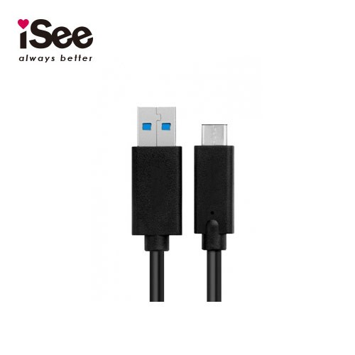【iSee】USB 3.1 -C to USB3.0 A 充電/資料傳輸線(IS-CA31 )
