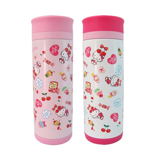 【Hello Kitty】真空保溫杯 350ml KF-5605